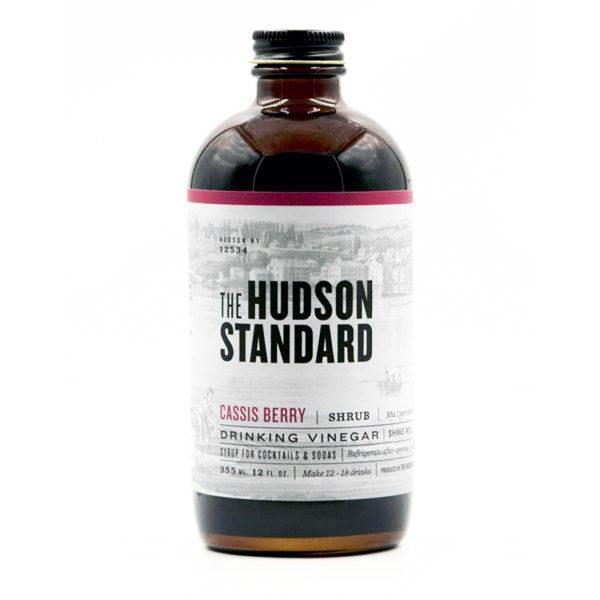 Hudson Standard - Shrub au Cassis 355ml