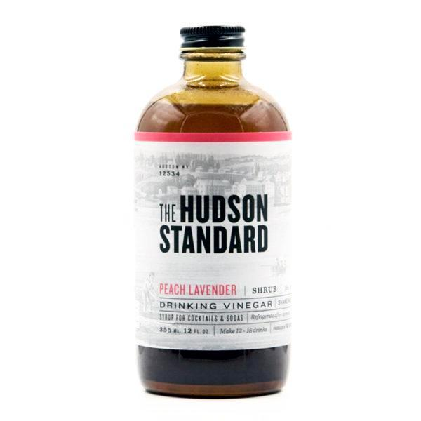 Hudson Standard - Shrub Pêche et Lavande 355ml