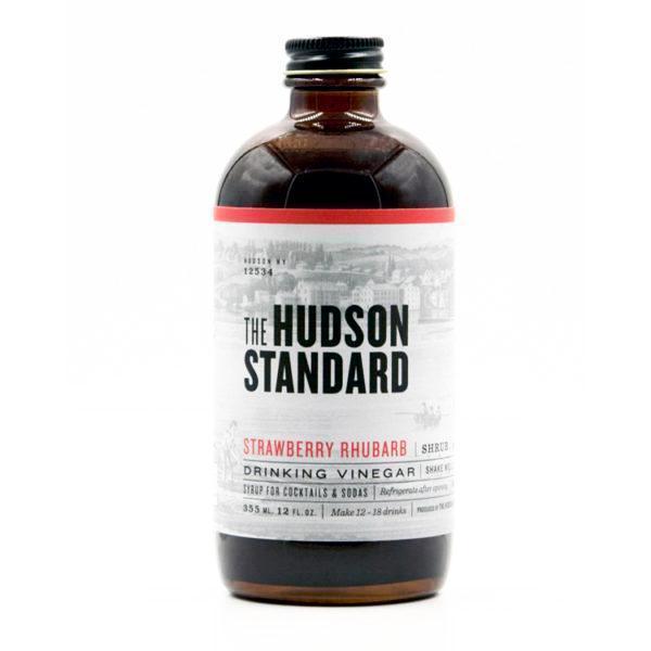 Hudson Standard - Shrub Fraise et Rhubarbe 355ml