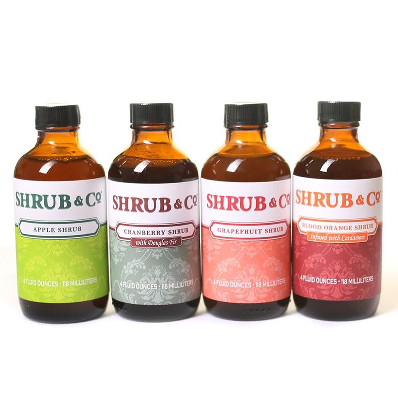 Shrub & Co - Variety Pack Winter (4 x 118ml)