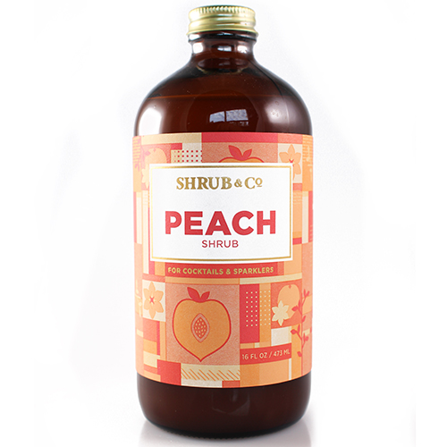 Shrub & Co - Peach 473ml
