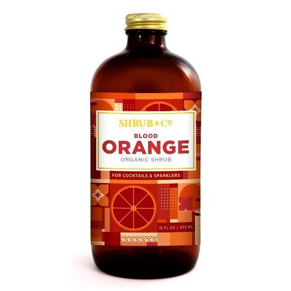 Shrub & Co - Shrub à l'Orange Sanguine 473ml