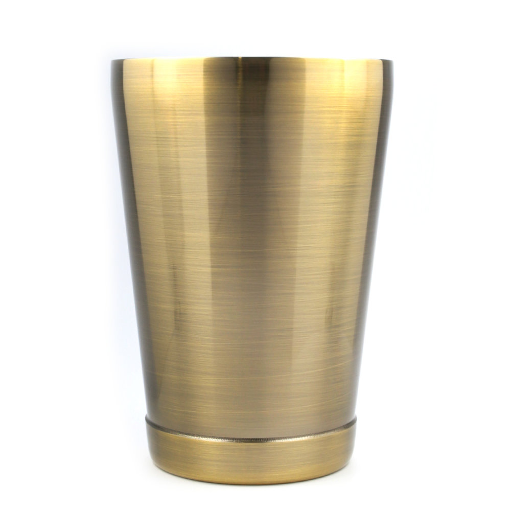 Boston Shaker - Cheater Antique Brass 16oz