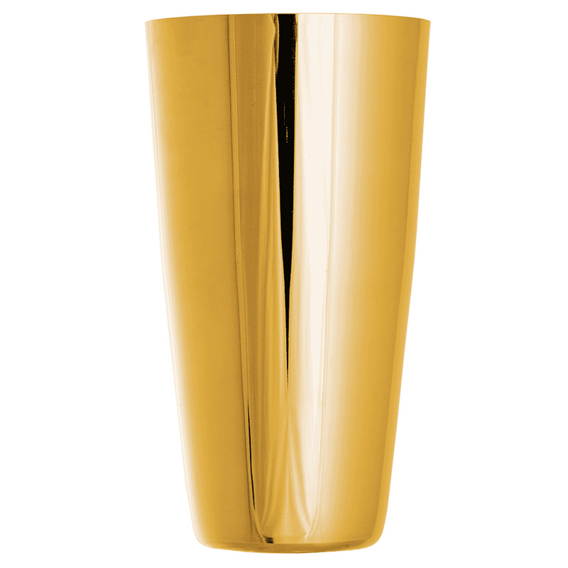Boston Shaker - Large Gold 28oz