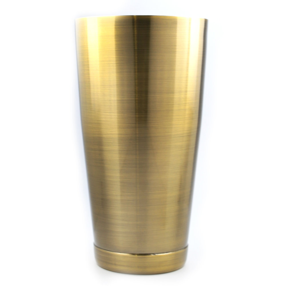 Boston Shaker - Large Antique Brass 28oz