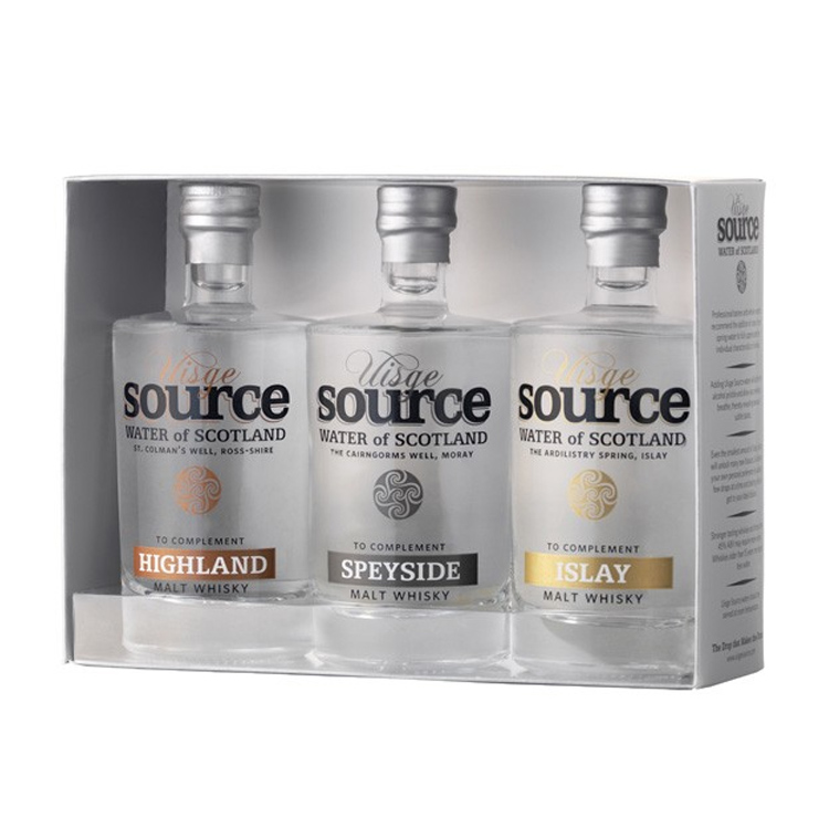 Uisge Source - Trio d'Eau à Whisky 3 x 100ml