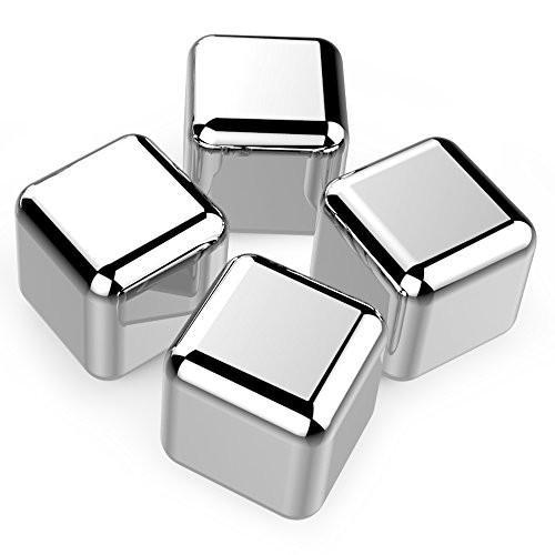 Cubes Refroidisseurs - Inox (Paquet de 4)