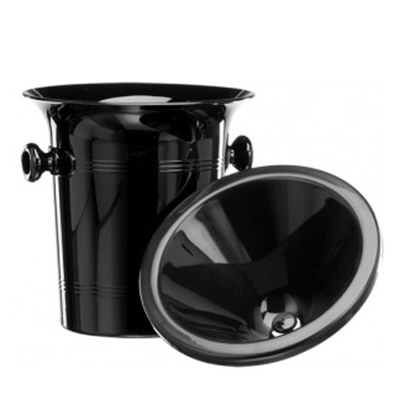 Lehmann Glass - Spittoon Black 2L