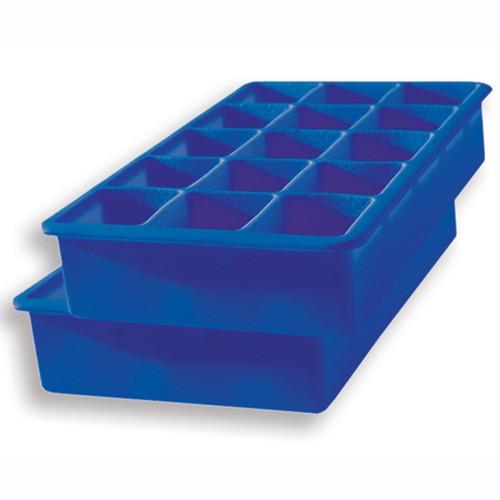 Moule à Glace - Cubes Haut Standard Bleu