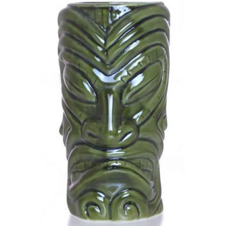 Tiki Mug - Lined Warrior 12oz