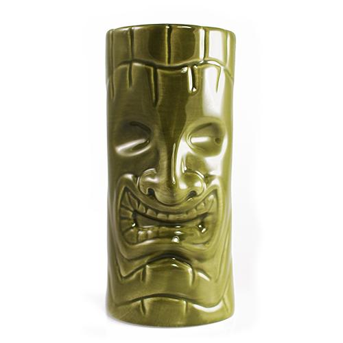 Gobelet Tiki - Sourire Vert 12oz