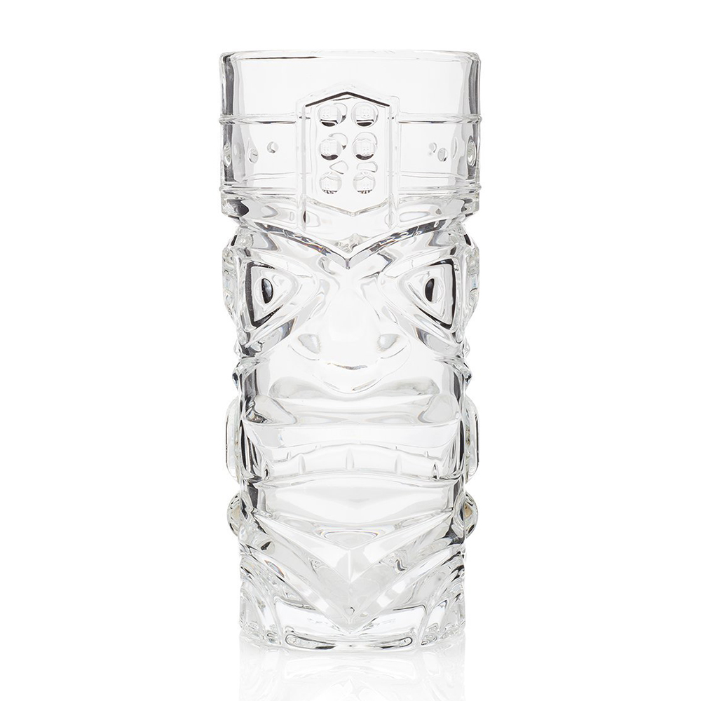 Tiki Mug - Clear 15oz