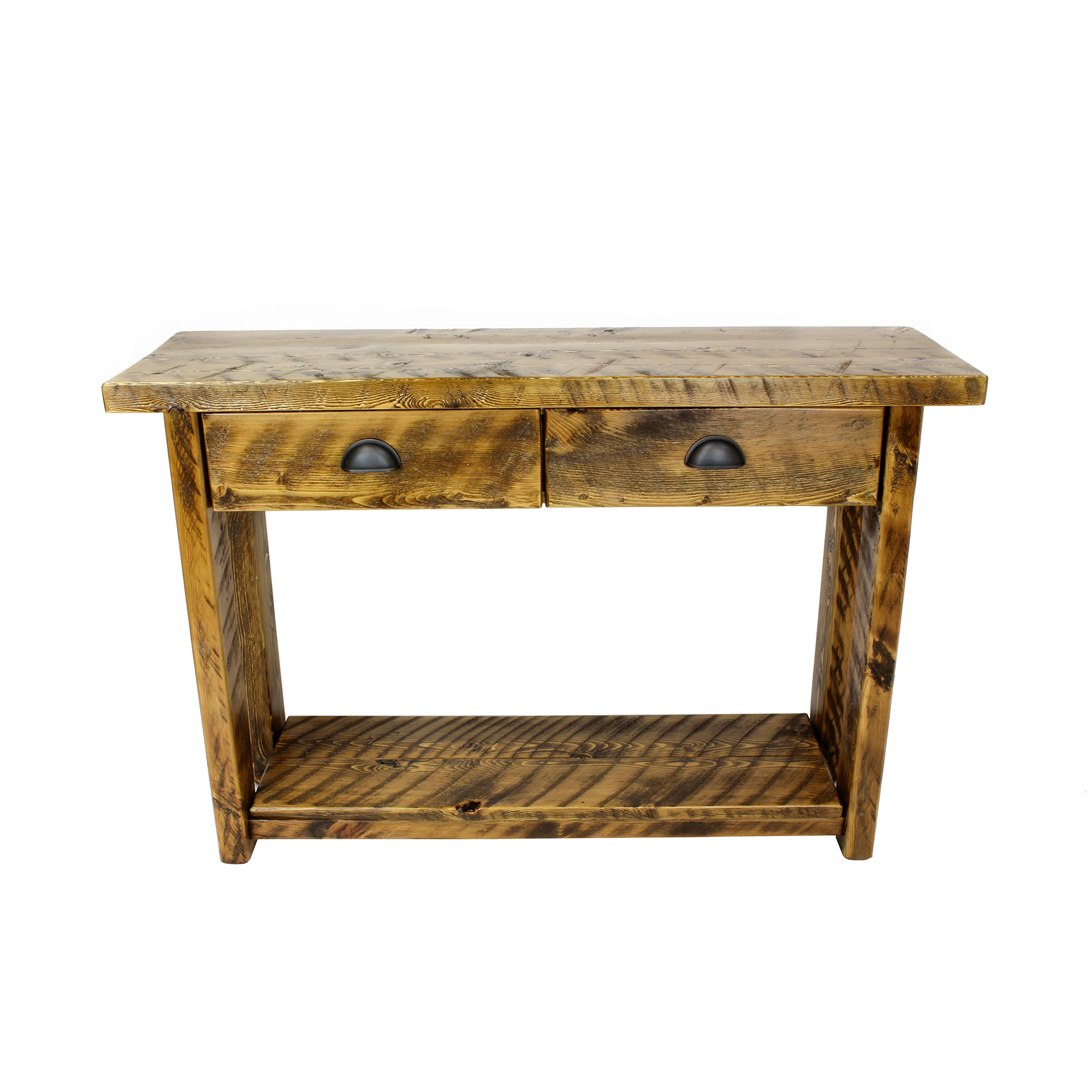 ENTRY/SOFA TABLE TRADITIONAL IN ROUGH SAWN ...