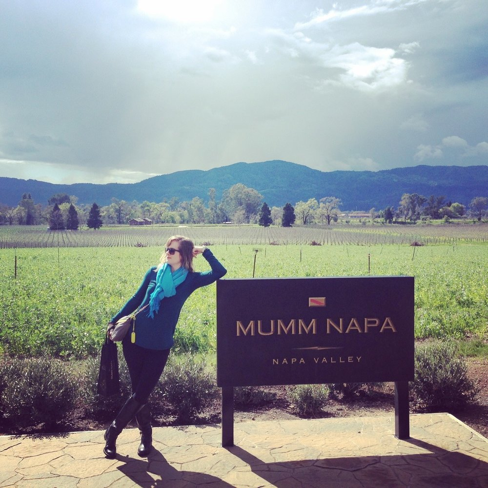 The beginning of the Napa trip, which was filled with running, dining, and amazing wines.