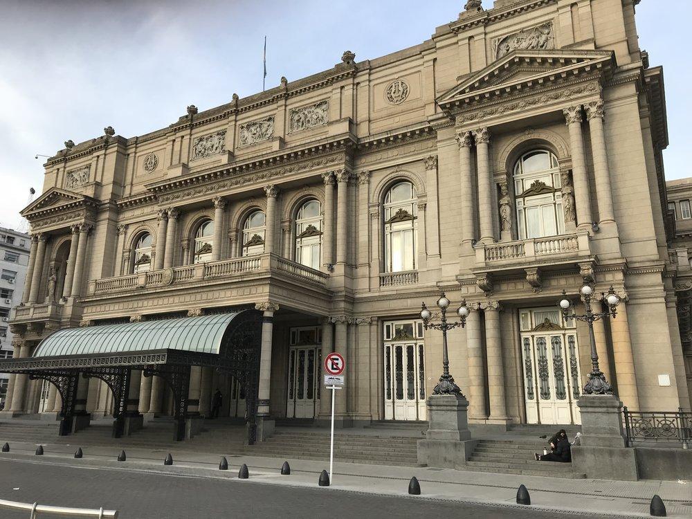 Ornate building in BA.