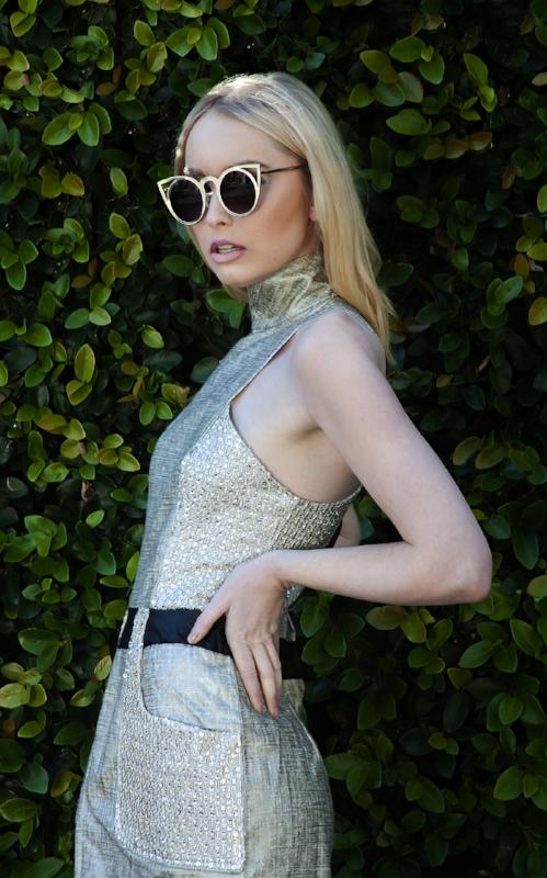 Photography: Ann Van Epps,MUA: Juliana Munera, Model:Madison Donaldson, Sunglasses photographer's own.