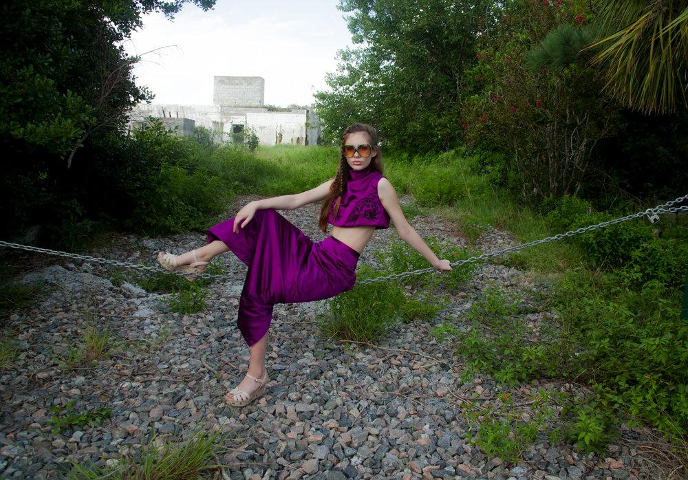 Hobble skirt Modeled by Alayna Bowen, Shot by Ann Van Epps