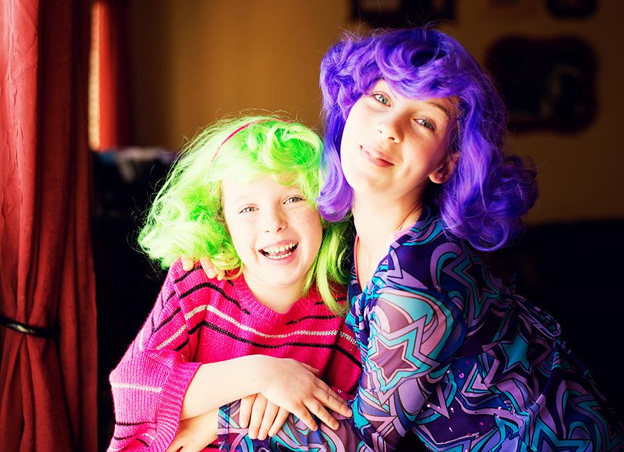 Crazy Hair Day Girls Web