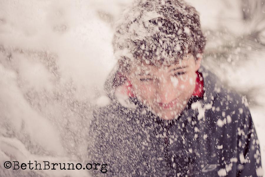 Snowfallingportrait