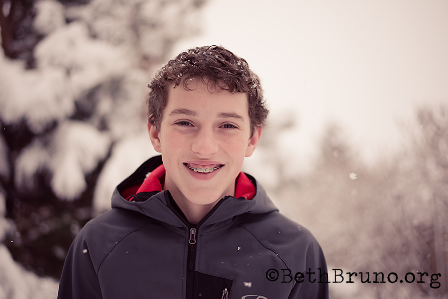 TeenSnowPortrait