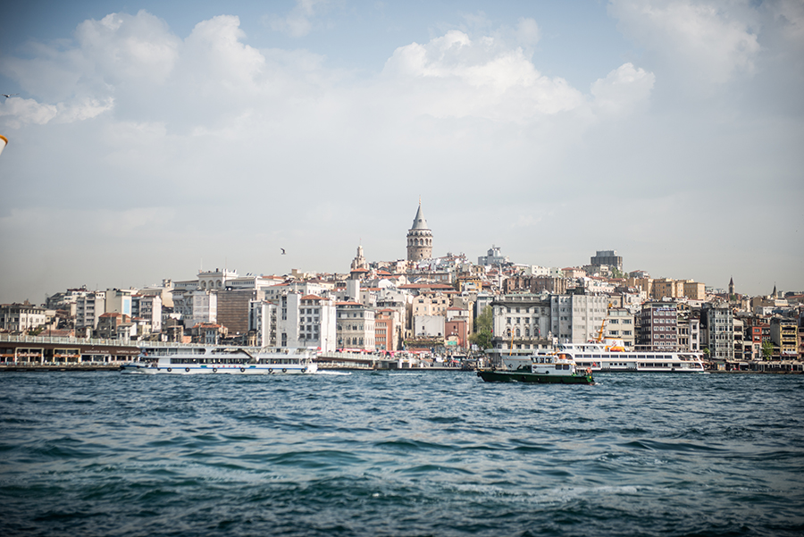 Galata from Water