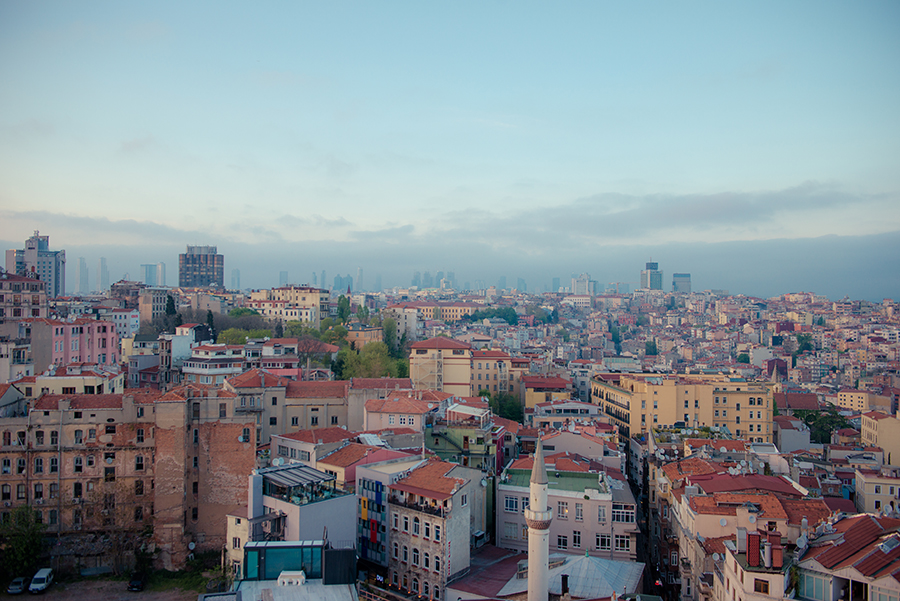 View from Galata