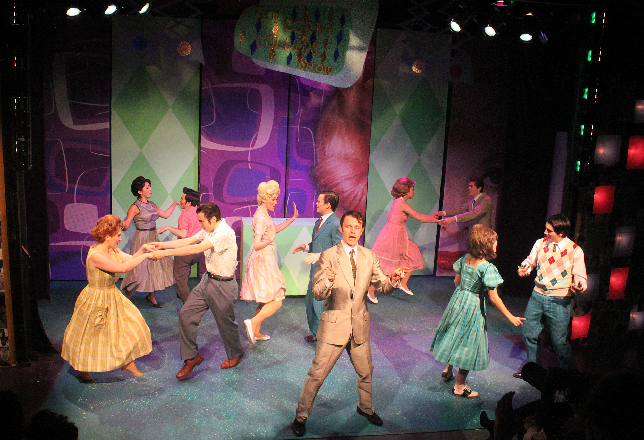"The ""nicest kids in town"" are the groovy dancers on the ""Corny Collins Show.""Photo: Darian Sundberg"