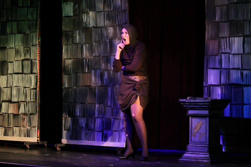 Aubry Panek as Edith Bouvier Beale in 'Grey Gardens.' Photo: Jessie Dobrzynski