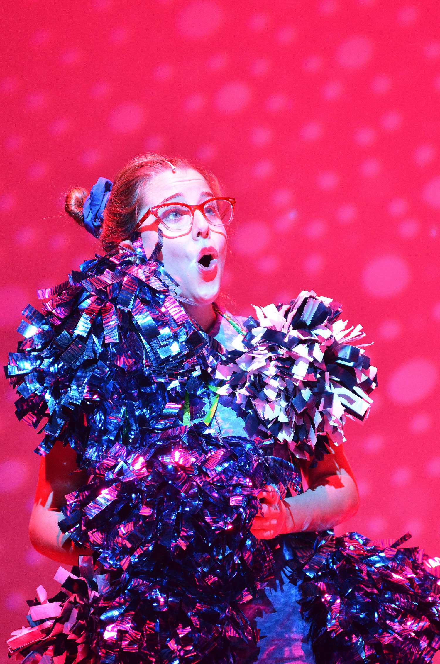 Sydney Patrick (Gertrude) in the SU Drama production of Seussical.