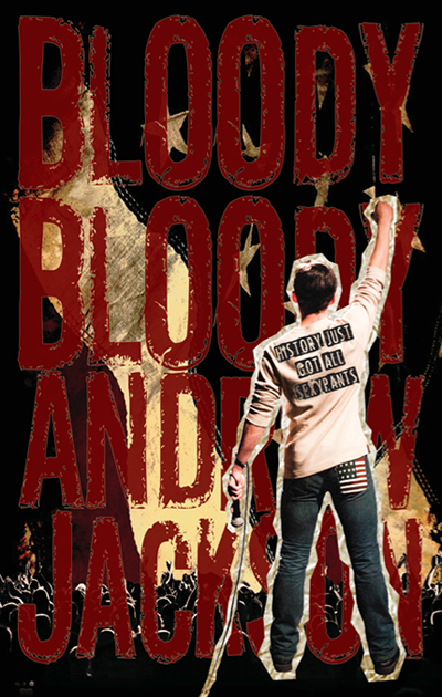 """Bloody, Bloody Andrew Jackson"" directed by Stephen Svoboda at the Redhouse Arts Center"
