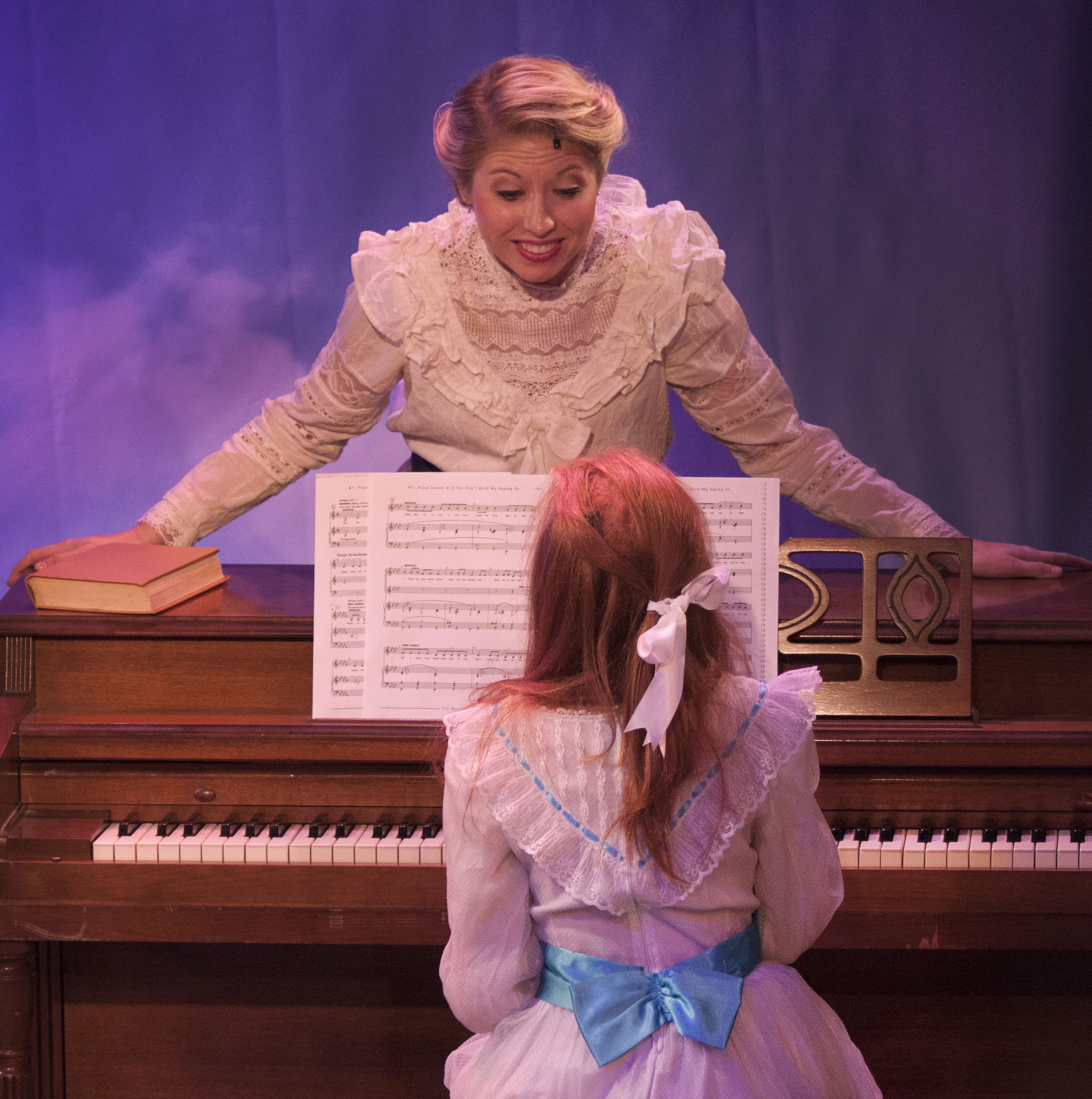 """The Music Man"" at the Redhouse. Photo by Teri Dobrzynski"