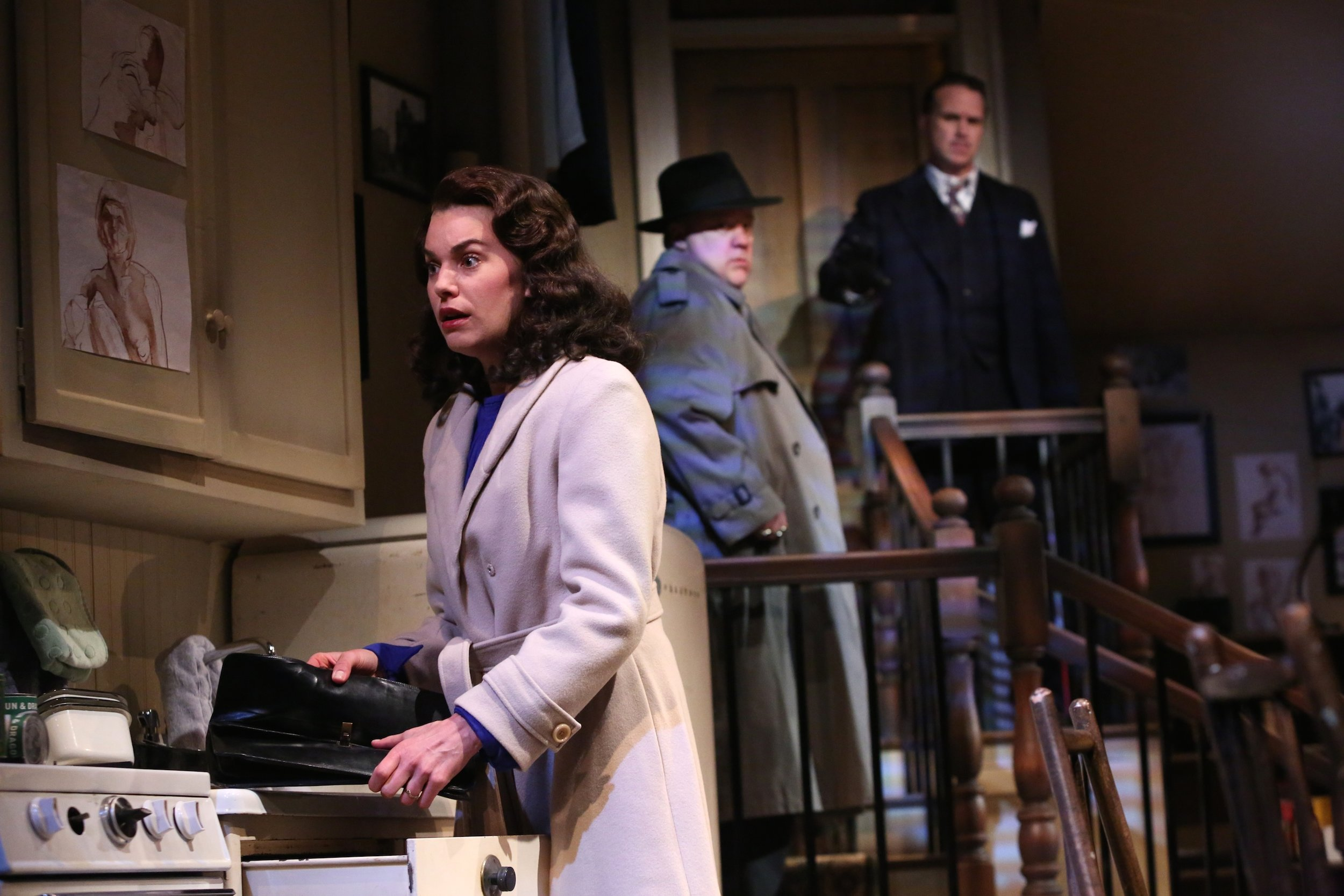 """Wait Until Dark"" at the Geva Theatre. Photo by: Ken Huth."