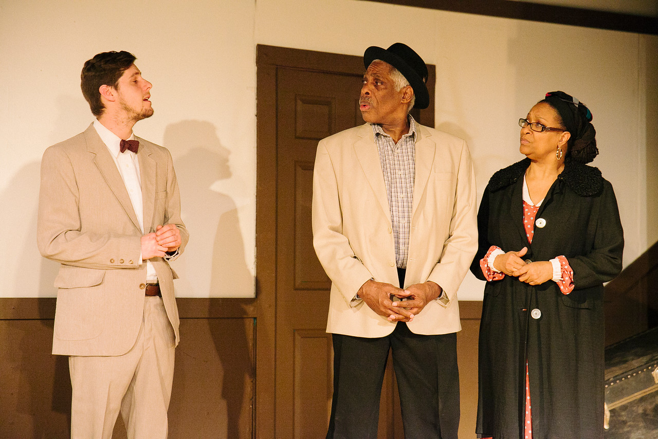 "The cast of ""Clybourne Park"" at CNY Playhouse."