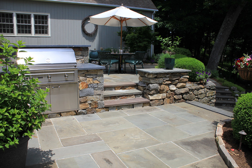 FULL RANGE, THERMAL BLUESTONE, RECTANGULAR CUT