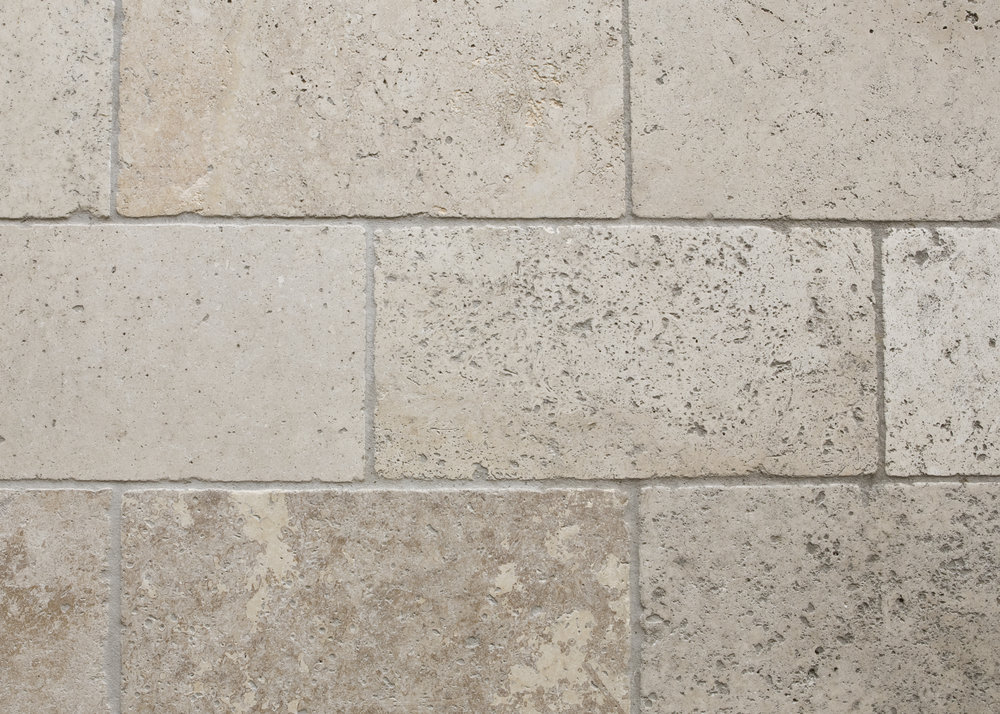 NOCE TRAVERTINE, HONED