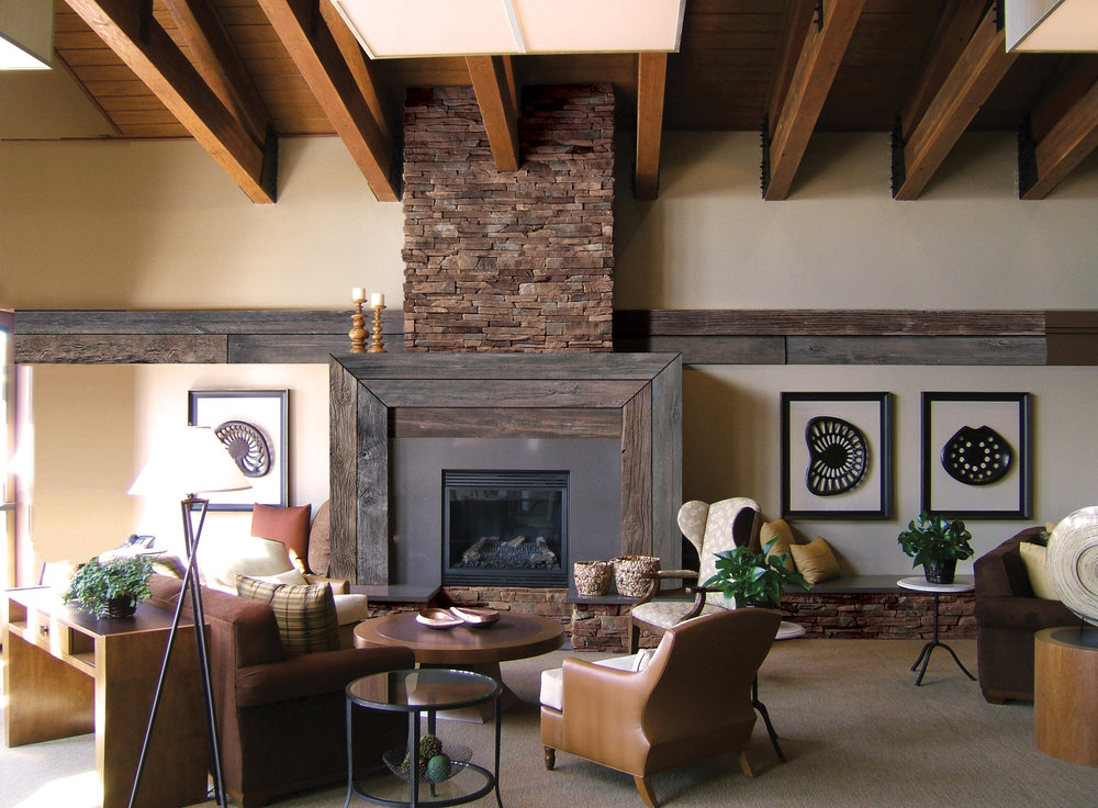 EASTERN MOUNTAIN LEDGE IN DAKOTA BROWN AND WOOD STONE