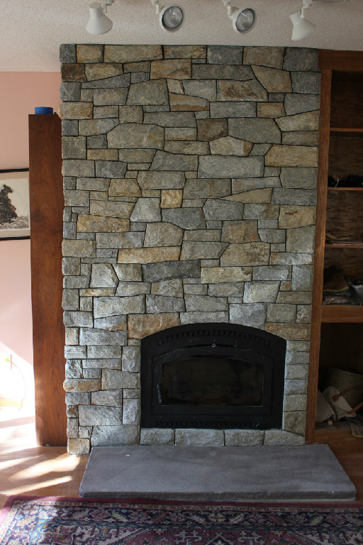 MATERIALS USED: OLD SPRUCE MOUNTAIN QUARTZITE