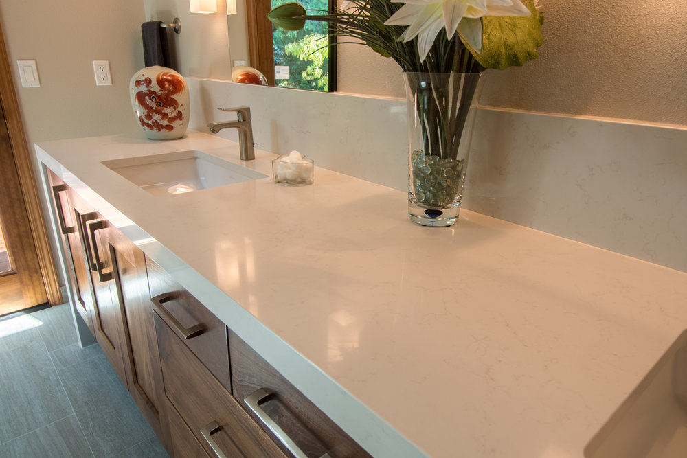 MATERIALS USED: CAESARSTONE