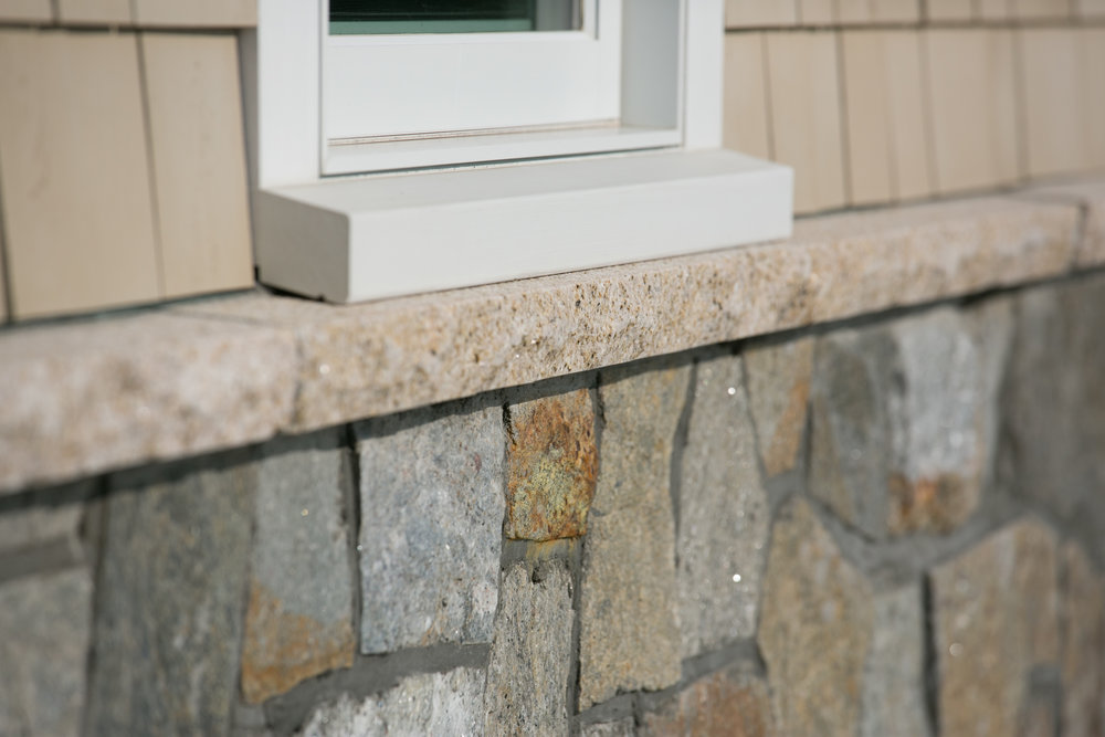 FALMOUTH BUFF GRANITE WATER TABLE