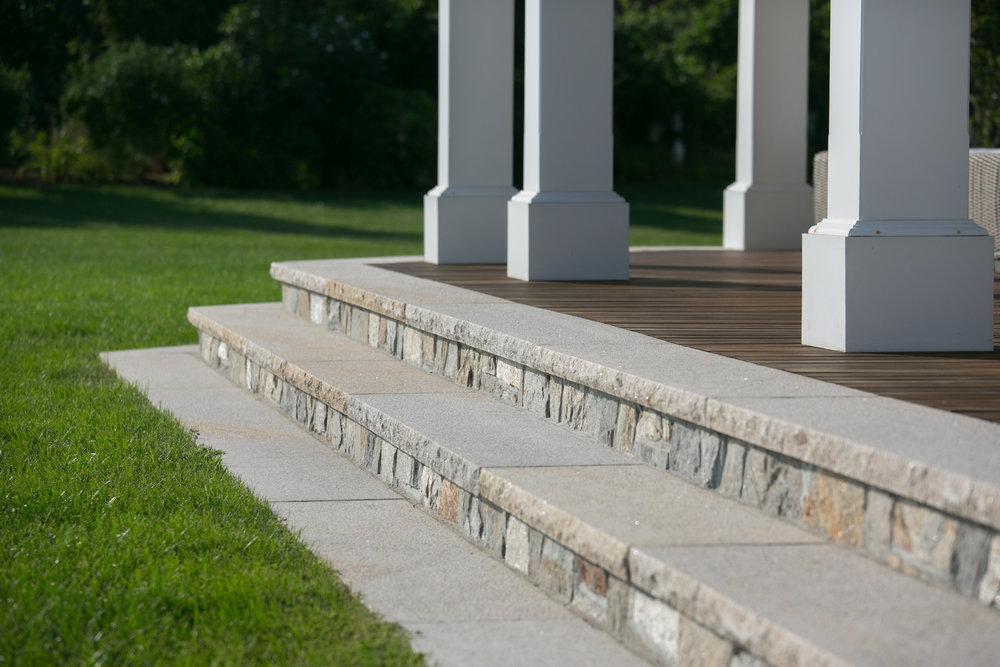 FALMOUTH BUFF GRANITE STAIR TREADS