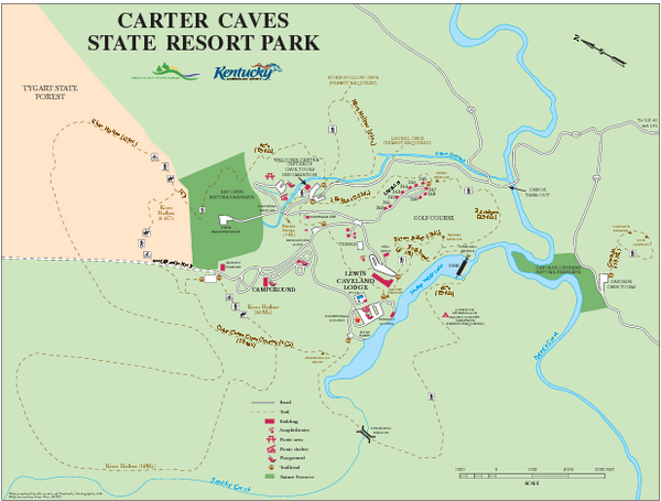 (Carter Caves Campground - Prices starting at $20)