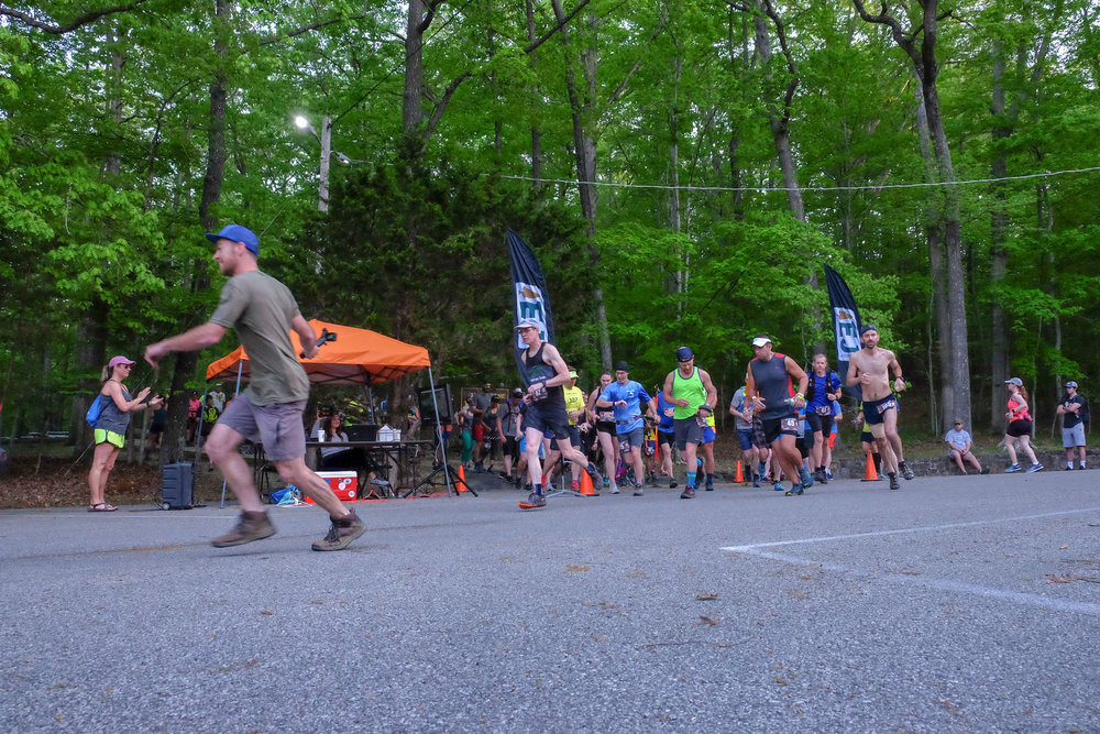 Carter Caves Half Marathon start at 7am