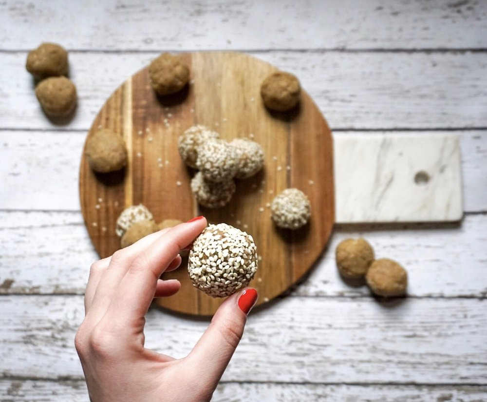 Collagen Tahini Balls - My favorite kinda balls