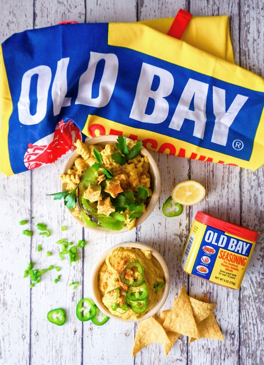 Old Bay, your way! -