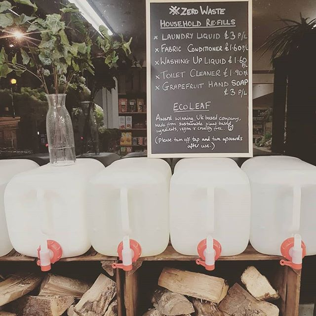 Have you used our refill station yet? Now supplying WASHING UP LIQUID / LAUNDRY LIQUID / FABRIC CONDITIONER / HAND SOAP / TOILET CLEANER. . Just bring in an empty bottle and start filling 💧