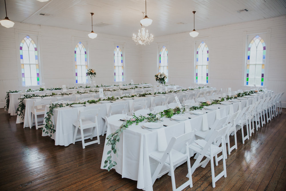 Reception Seating Banquet Style Inside, Room View.jpg