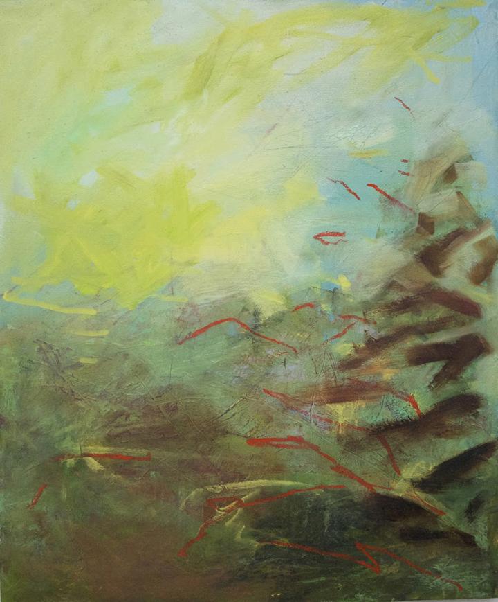 """Canopy"" 24""x20"" Oil on Canvas"