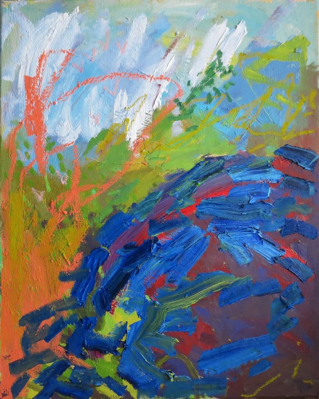 """Mound"" 20""x16"" Oil on Canvas 2016"