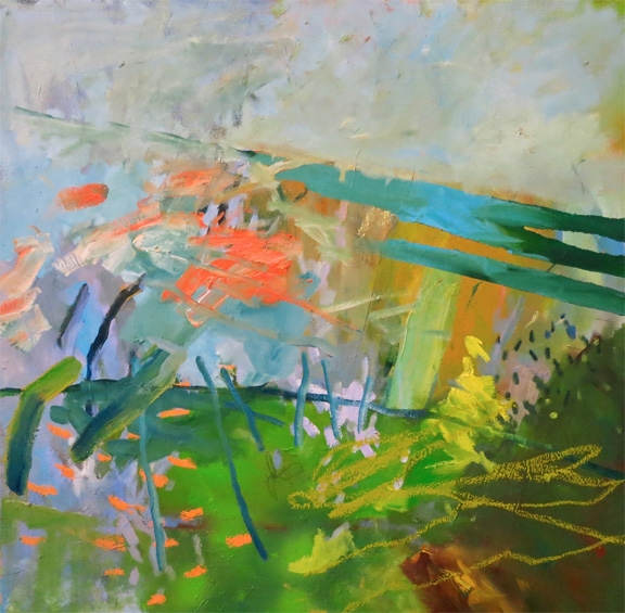 """Dissonance II"" 24""x24"" Oil on Canvas"