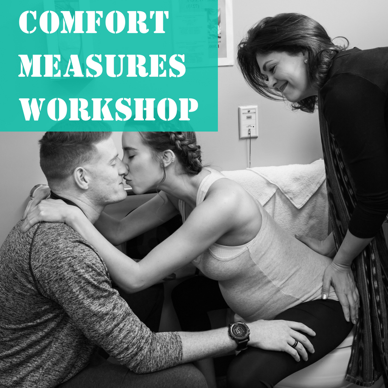 This workshop is designed to help both partners build confidence for the big day. You will take in lots of relaxation, comfort measures, massage, imagery for labor, as well as communication skills for labor. This workshop does not replace a childbirth education course. The beautiful workbook that comes with this workshop is one you will want to spend time with for the duration of the pregnancy. Class time approximately 4 hours. - $165